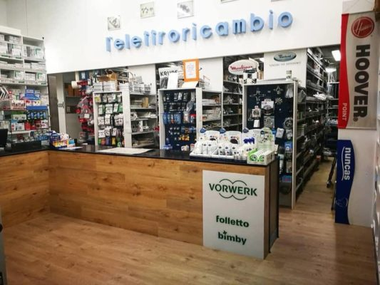 New look per il negozio L'Elettroricambio